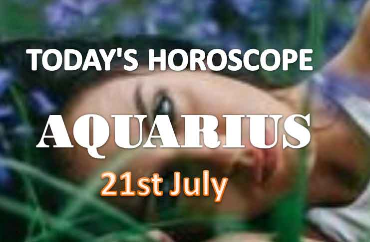 aquarius daily horoscope for today wednesday july 21st 2021