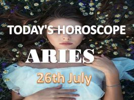 aries daily horoscope for today monday july 26th 2021