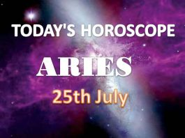 aries daily horoscope for today sunday july 25th 2021
