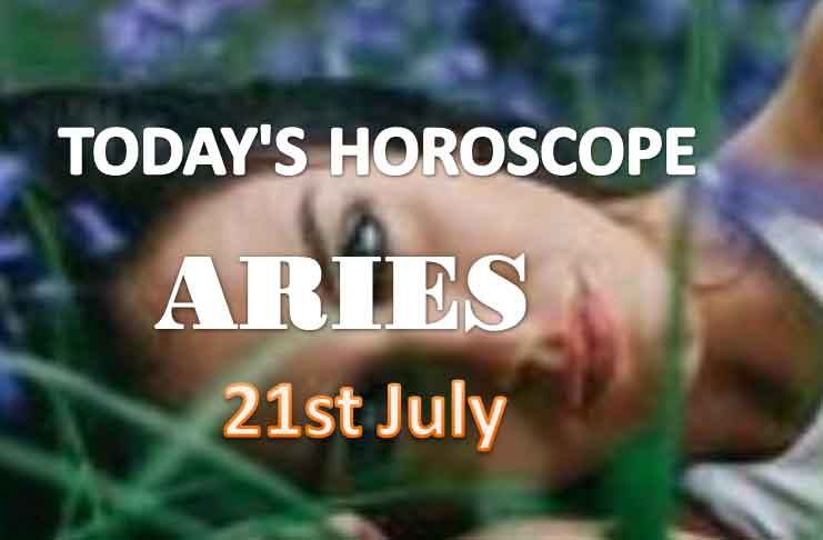 aries daily horoscope for today wednesday july 21st 2021