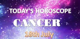 cancer daily horoscope for today sunday july 18th 2021
