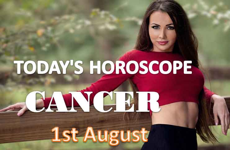 cancer daily horoscope for today saturday august 1st 2021