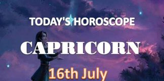 capricorn daily horoscope for today friday july 16th 2021