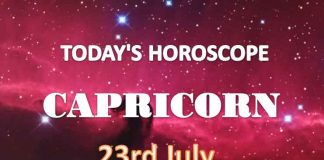 capricorn daily horoscope for today friday july 23rd 2021