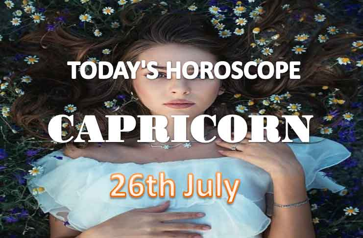 capricorn daily horoscope for today monday july 26th 2021