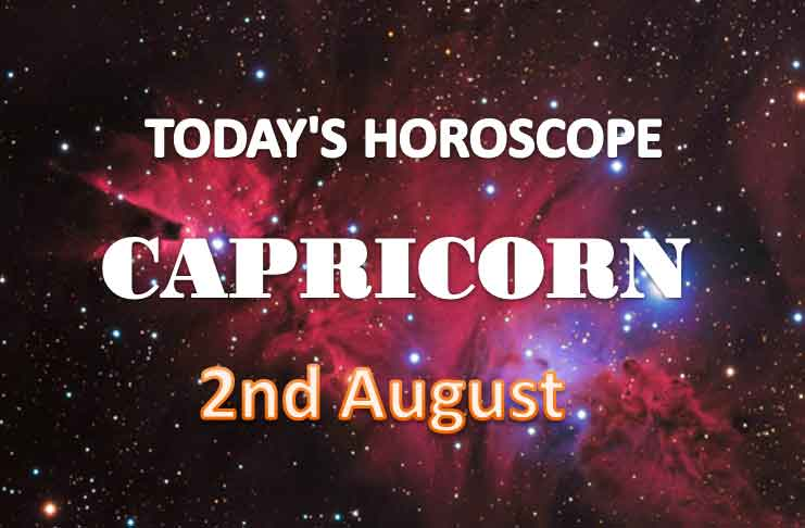 capricorn daily horoscope for today monday august 2nd 2021