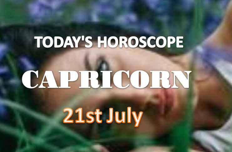 capricorn daily horoscope for today wednesday july 21st 2021