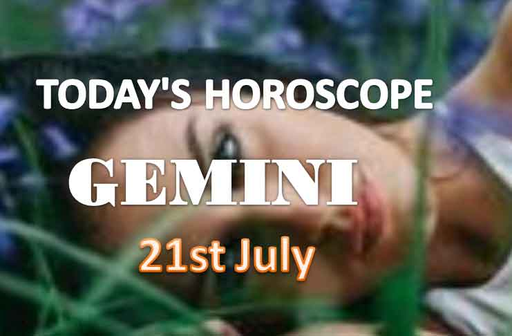 gemini daily horoscope for today wednesday july 21st 2021