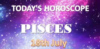 pisces daily horoscope for today sunday july 18th 2021