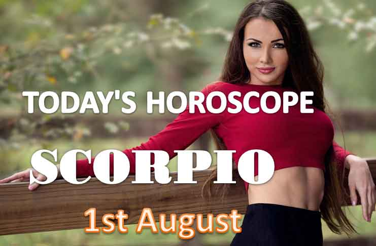scorpio daily horoscope for today saturday august 1st 2021