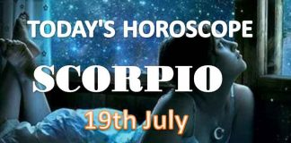 scorpio daily horoscope for today monday july 19th 2021