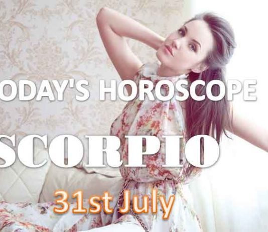 scorpio daily horoscope for today saturday july 31st 2021
