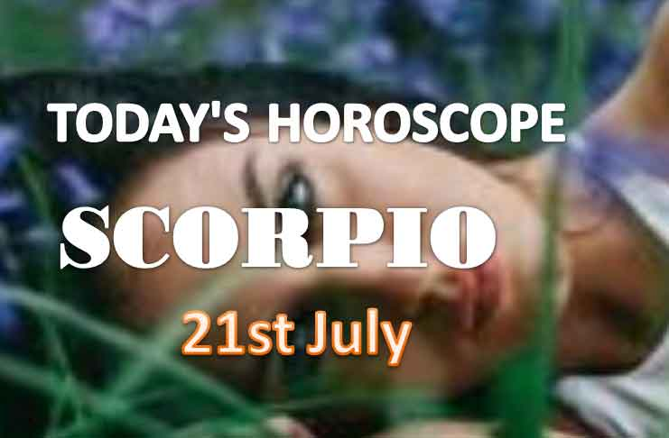 scorpio daily horoscope for today wednesday july 21st 2021