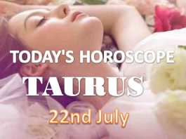 taurus daily horoscope for today thursday july 22nd 2021