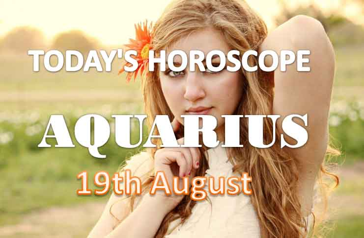 aquarius daily horoscope for today thursday august 19th 2021