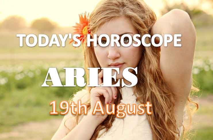 aries daily horoscope for today thursday august 19th 2021