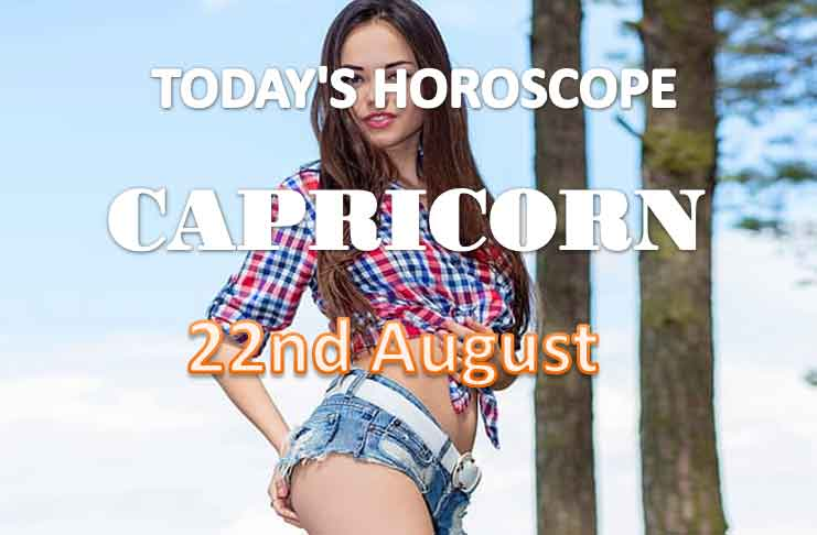 capricorn daily horoscope for today sunday august 22nd 2021