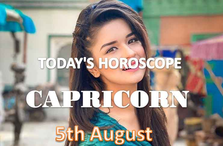 capricorn daily horoscope for today thursday august 5th 2021