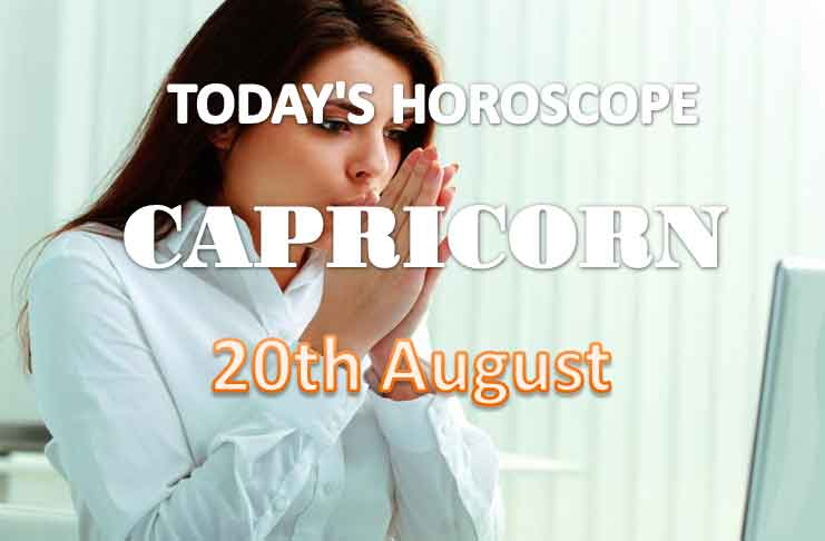 capricorn daily horoscope for today friday august 20th 2021