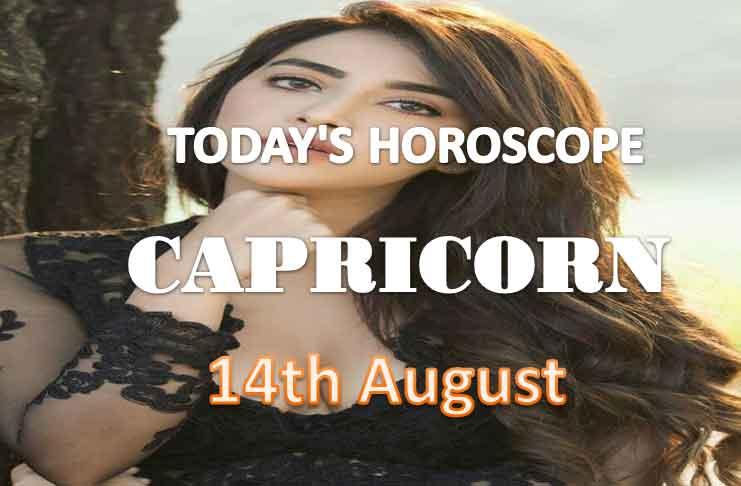 capricorn daily horoscope for today saturday august 14th 2021