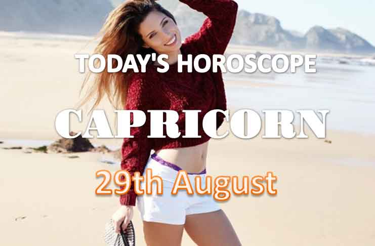capricorn daily horoscope for today sunday august 29th 2021
