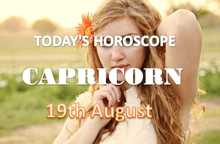 capricorn daily horoscope for today thursday august 19th 2021