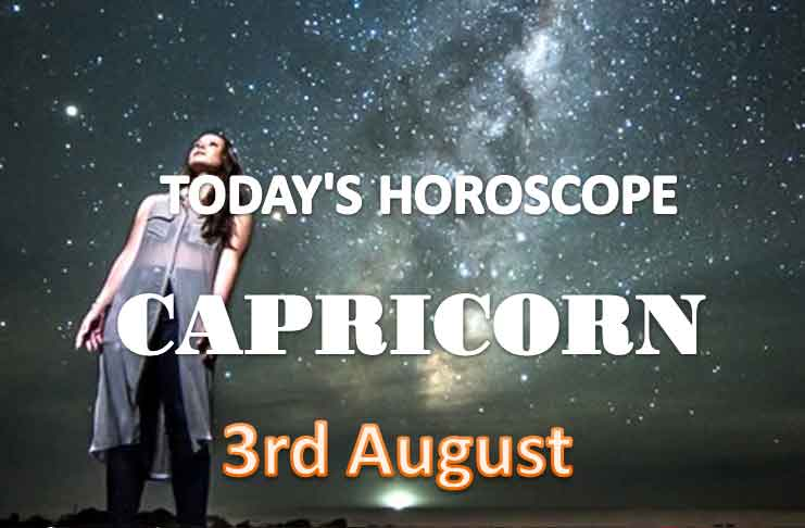 capricorn daily horoscope for today tuesday august 3rd 2021