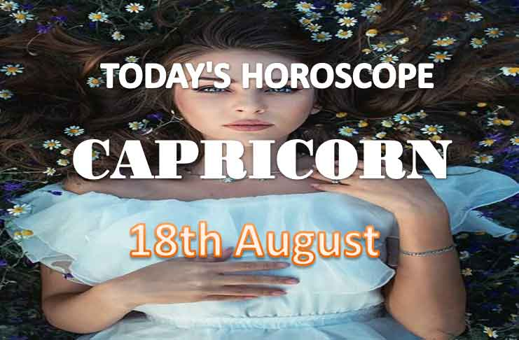 capricorn daily horoscope for today wednesday august 18th 2021