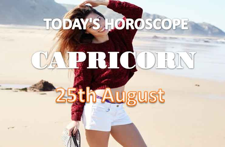 capricorn daily horoscope for today wednesday august 25th 2021
