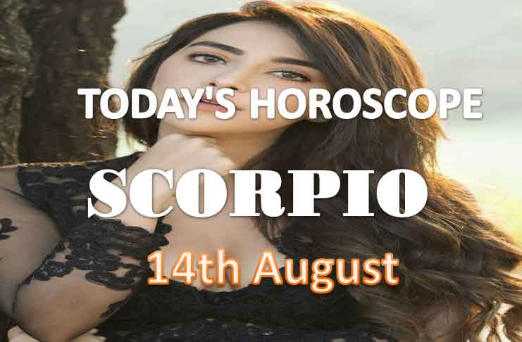 scorpio daily horoscope for today saturday august 14th 2021