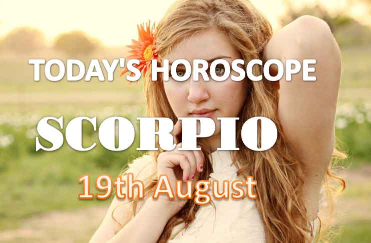 scoprio daily horoscope for today thursday august 19th 2021