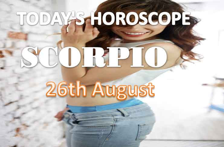 scorpio daily horoscope for today thursday august 26th 2021
