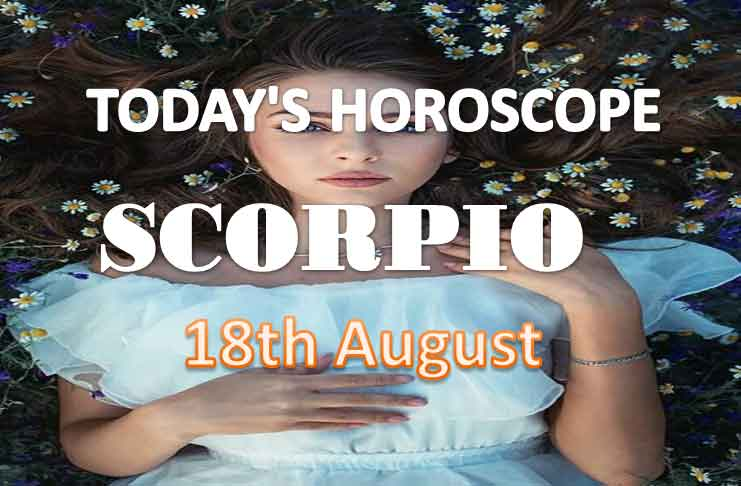scorpio daily horoscope for today wednesday august 18th 2021