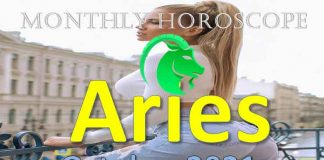 aries monthly horoscope for october 2021