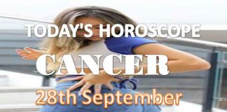 cancer daily horoscope for today tuesday september 28th, 2021