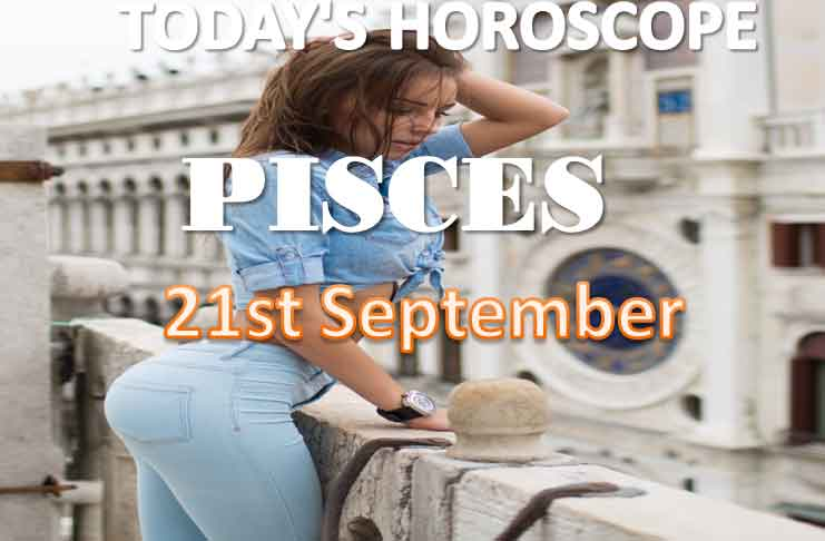 pisces daily horoscope for today monday september 21st, 2021
