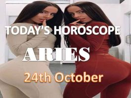 aries daily horoscope for today sunday 24th october, 2021