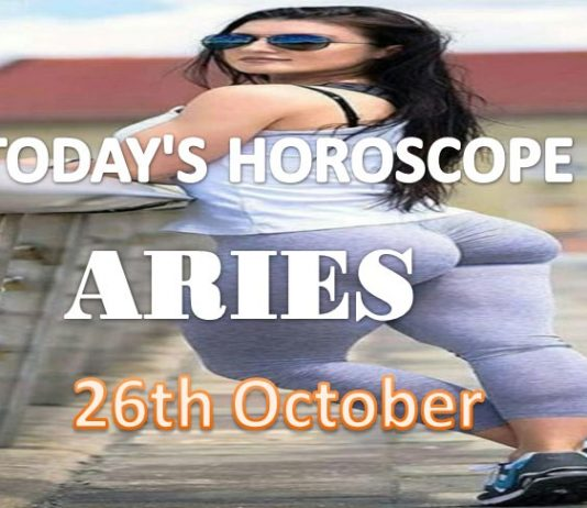 aries daily horoscope for today tuesday 26th october, 2021