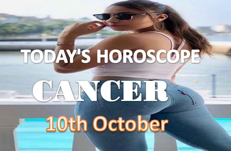 cancer daily horoscope for today sunday 10th october, 2021