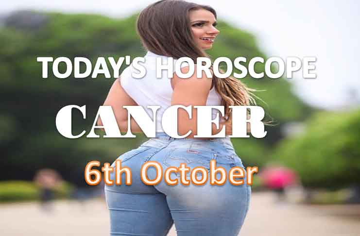 cancer daily horoscope for today wednesday 6th october, 2021
