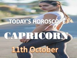 capricorn daily horoscope for today monday 11th october, 2021