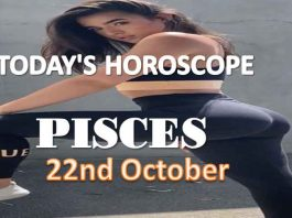 pisces daily horoscope for today friday 22nd october, 2021