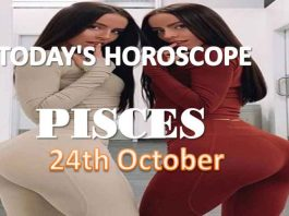 pisces daily horoscope for today sunday 24th october, 2021