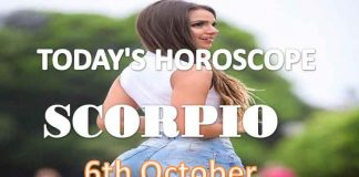 scorpio daily horoscope for today wednesday 6th october, 2021