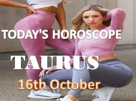 taurus daily horoscope for today saturday 16th october, 2021